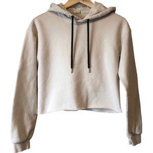 Garage crop hoodie